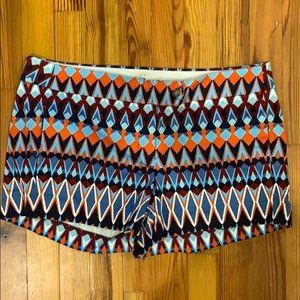 Jcrew stretch cinco shorts